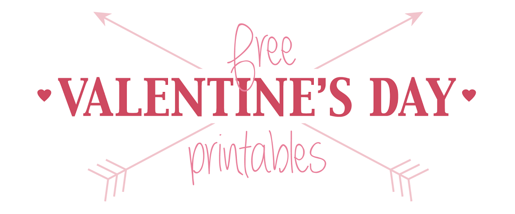 Free Valentine\'s Day Printables - Designs By Miss Mandee