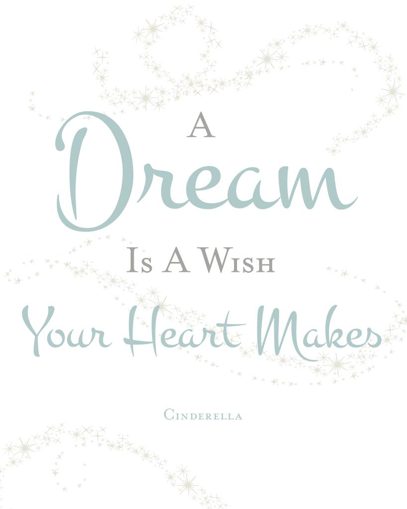cinderella quote printable designs by miss mandee