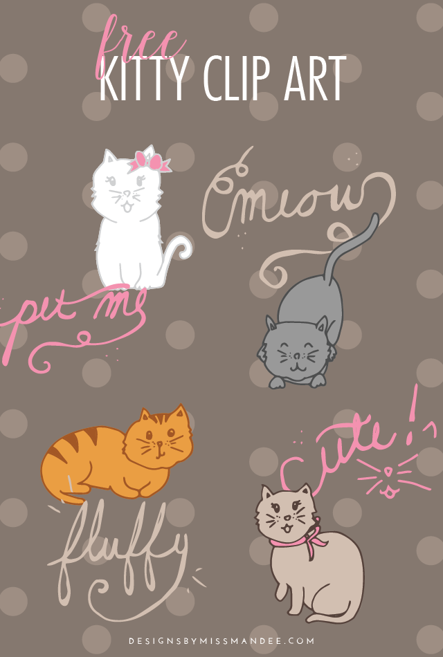 Kitty Clip Art