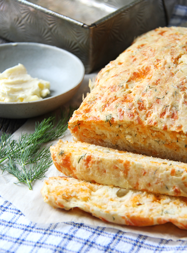 Cheddar-and-Dill-Buttermilk-Quick-Bread-A-Pretty-Life