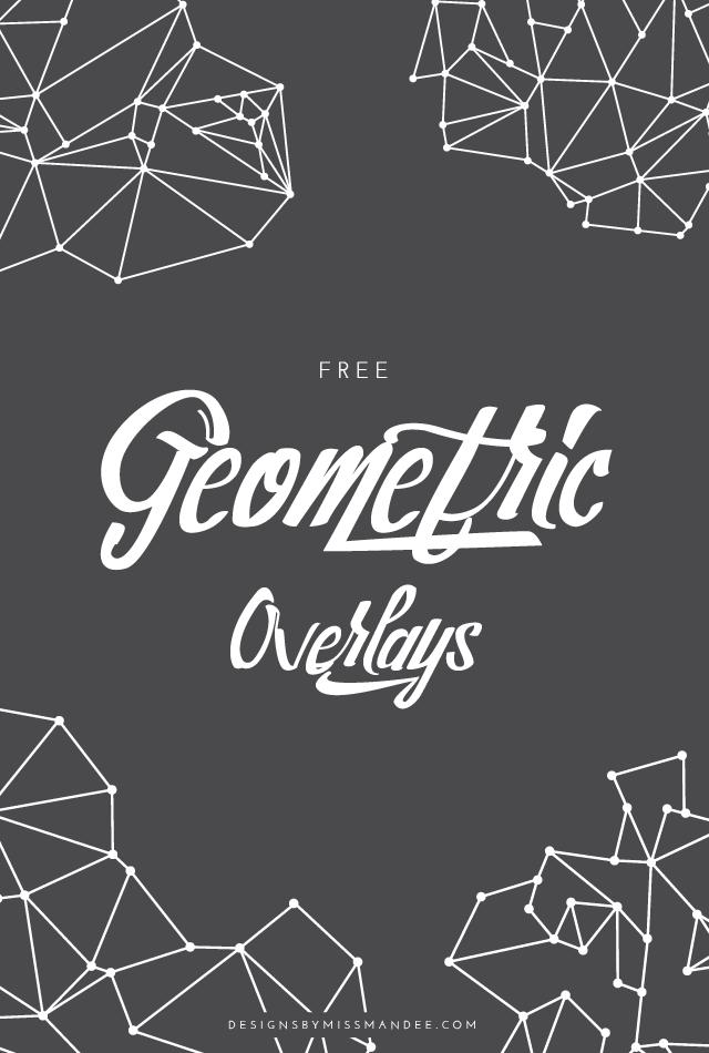 geometric overlays designs by miss mandee