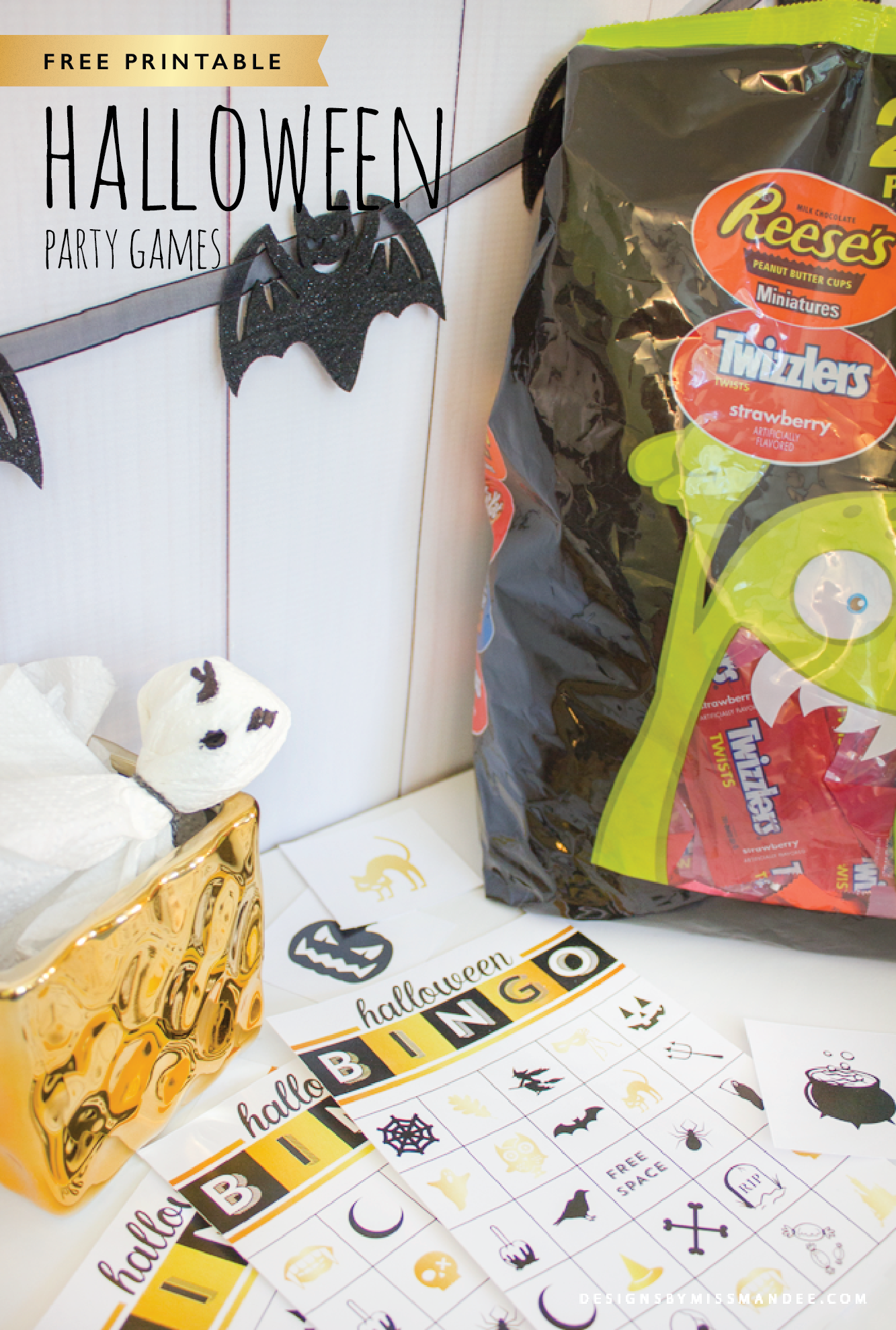 Printable Halloween Bingo Cards