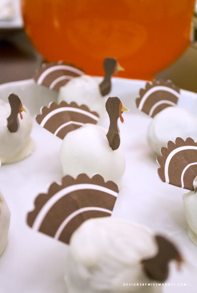 OREO Cookie Ball Turkeys