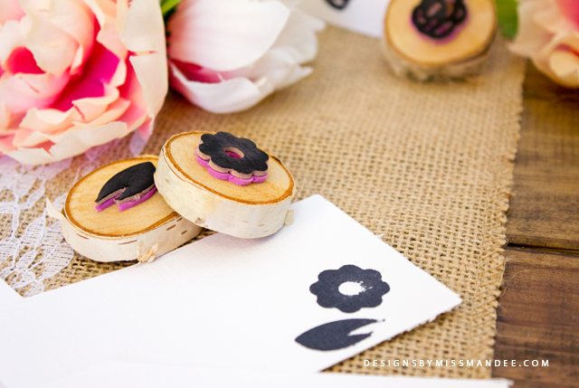 DIY Flower Stamps