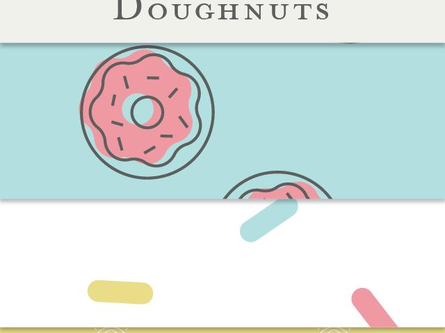 Seamless Doughnut Patterns