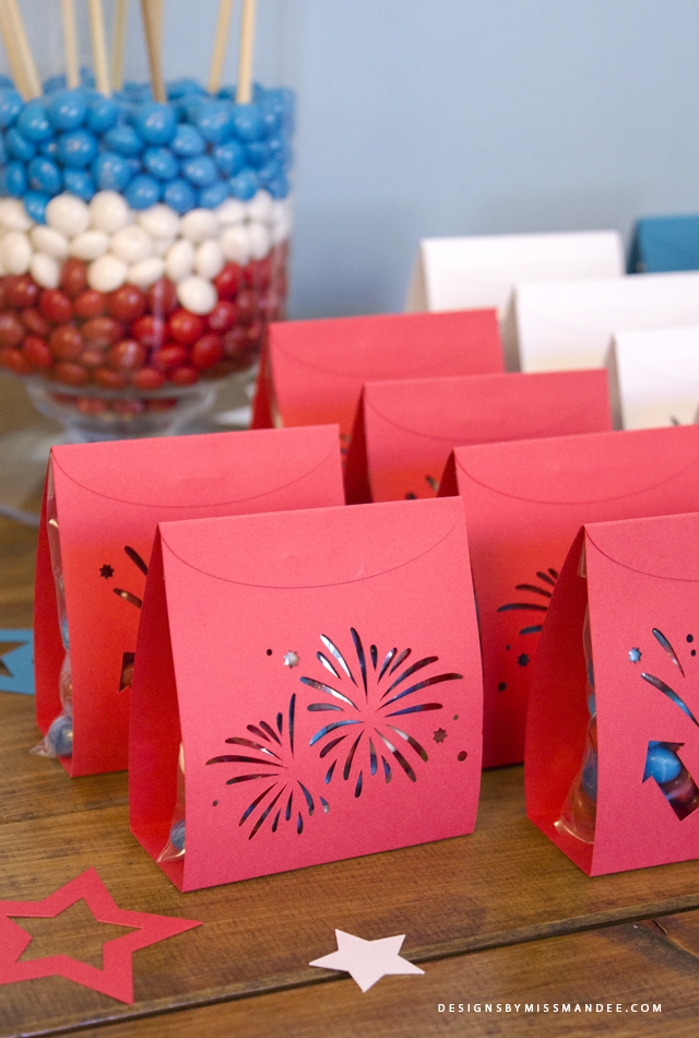 Firework Treat Pouches