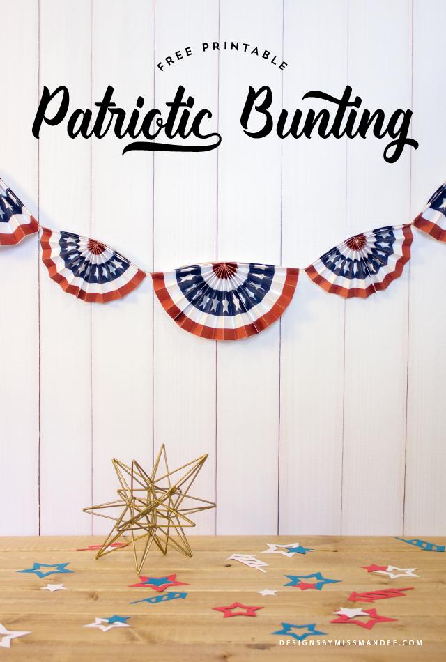 Patriotic Bunting
