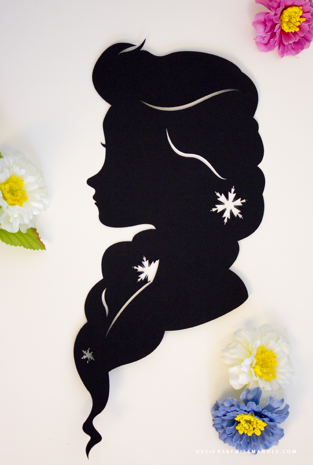 Disney Princess Silhouettes v.2   Designs By Miss Mandee