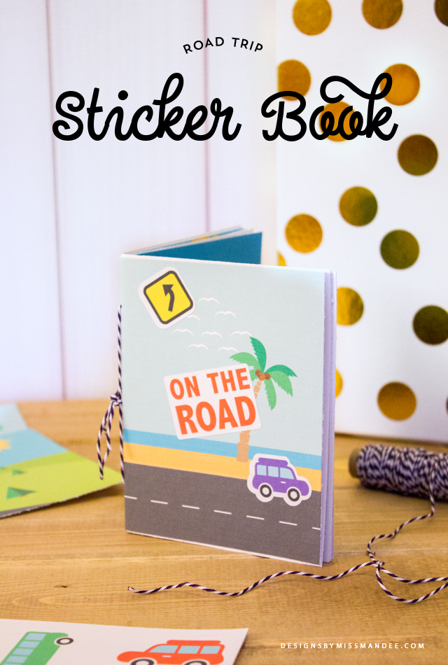 Road Trip Sticker Book