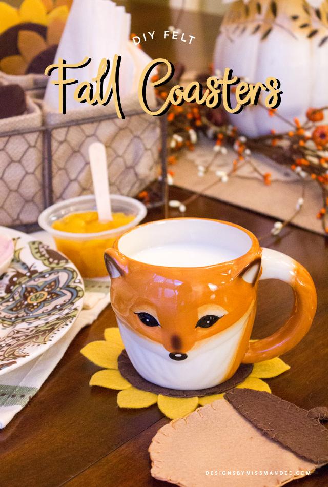Felt Fall Coasters