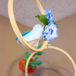 Hanging Bird Perch Mobile