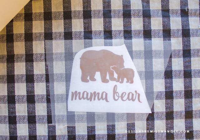 DIY Mama Bear Cup