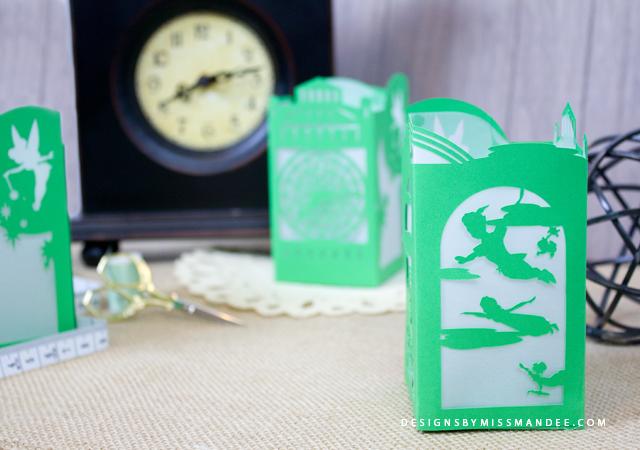 Peter Pan Paper Lantern