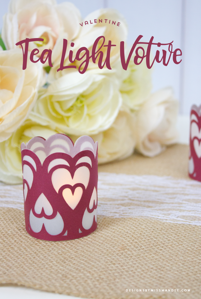 Valentine Tea Light Votive