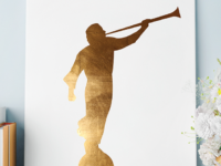 Angel Moroni Cut File