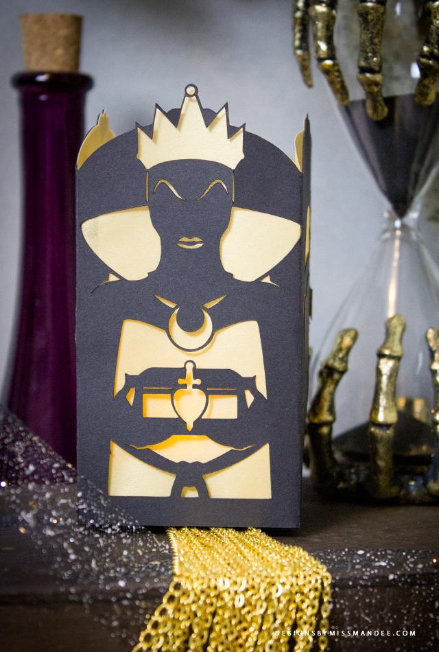 Evil Queen Paper Lantern