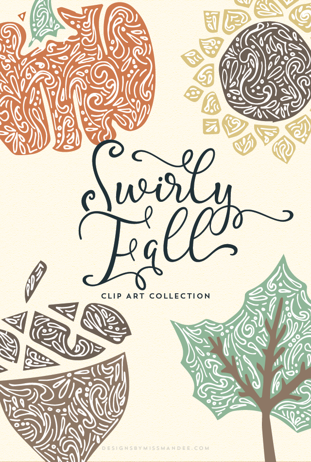 Swirly Fall Graphics