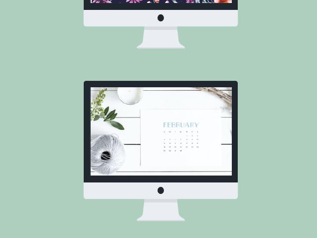 2018 Desktop Calendars