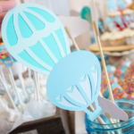 Die Cut Hot Air Balloons