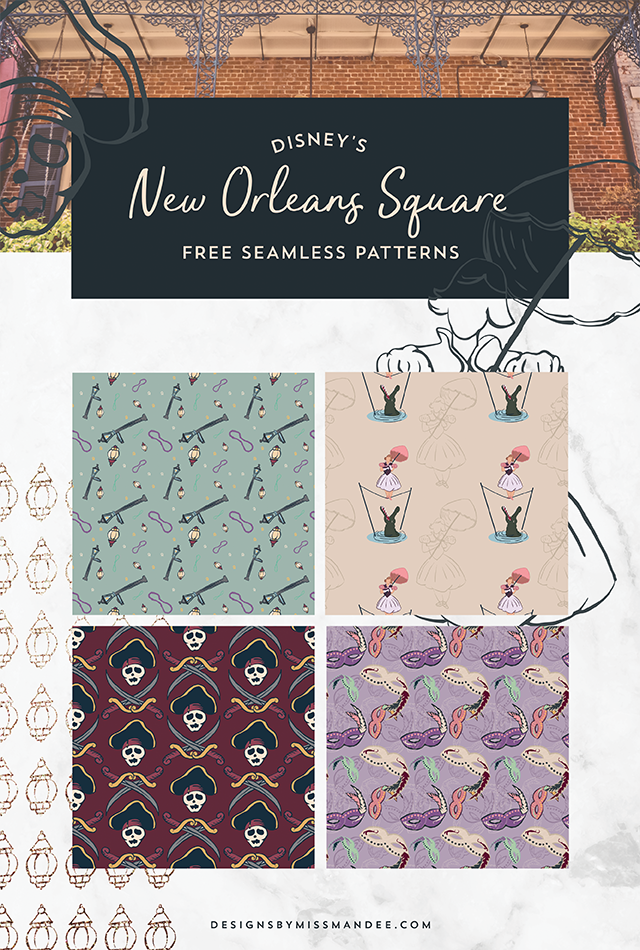 New Orleans Square Patterns