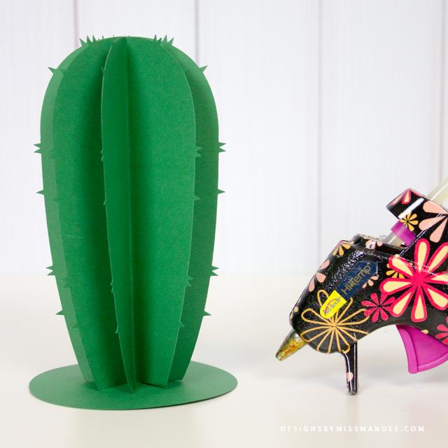 Die Cut Cacti