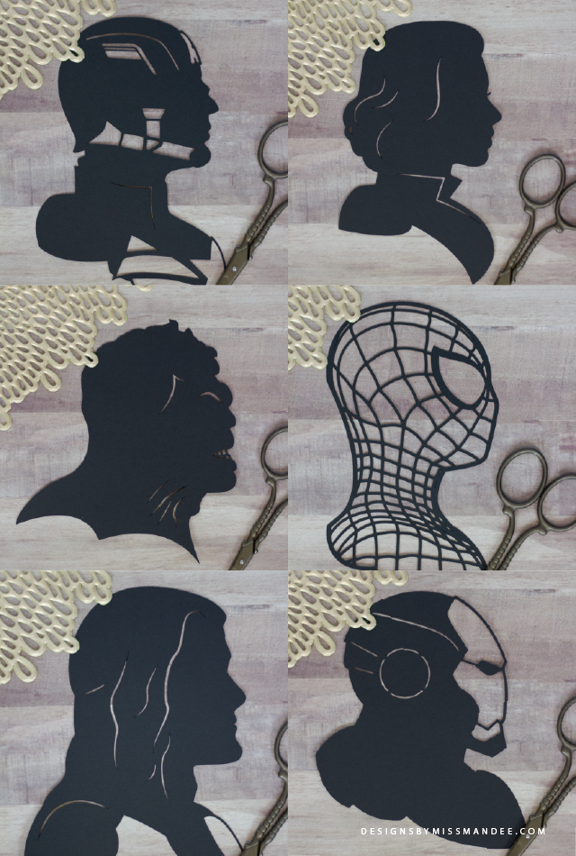 Avengers Silhouettes