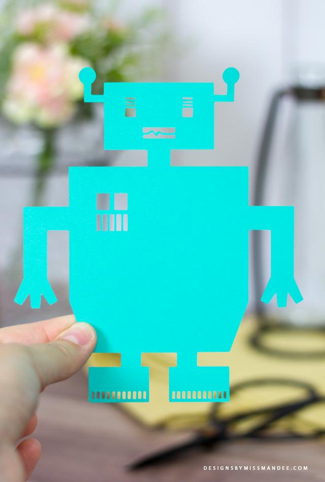 Die Cut Robots