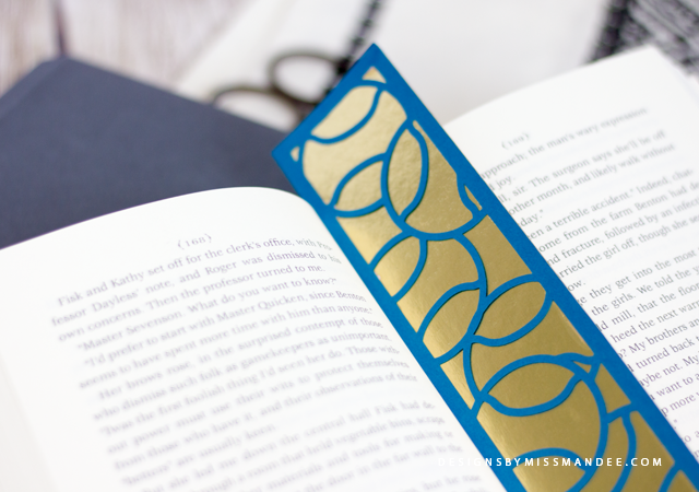 Die Cut Sports Bookmarks