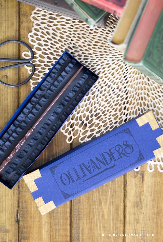 Ollivanders Wand Box. By Mandee c6ac1f994114