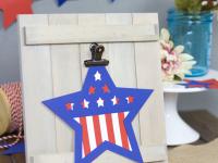 Die Cut Patriotic Stars