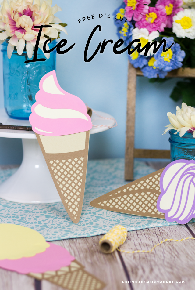 Die Cut Ice Cream