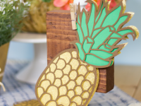 Die Cut Pineapple