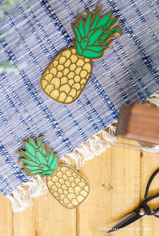 Die Cut Pineapple