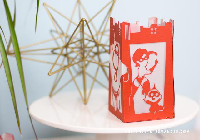 Incredibles Paper Lantern