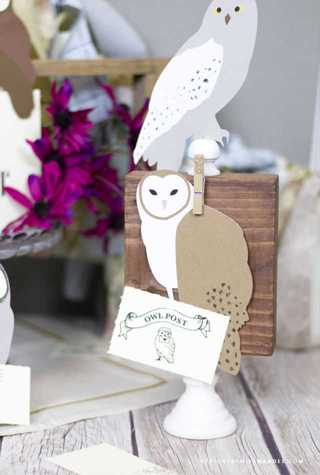 Die Cut Owls