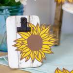 Die Cut Sunflowers