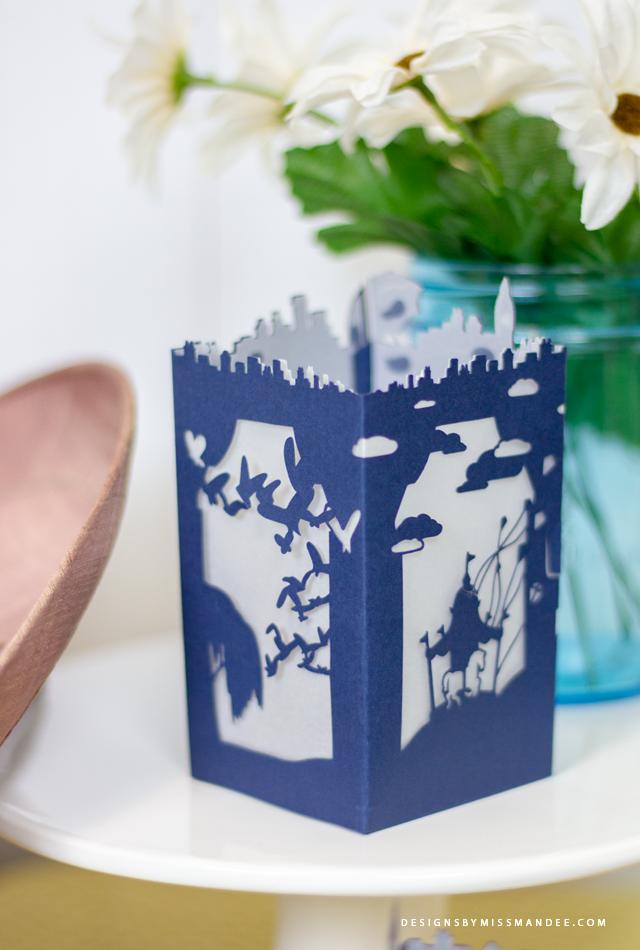 Mary Poppins Paper Lantern