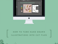 How To Turn Hand Drawn Illustrations Into Cut Files