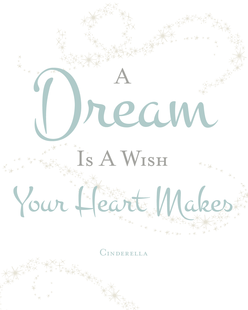 Cinderella Quote Printable | Designs By Miss Mandee