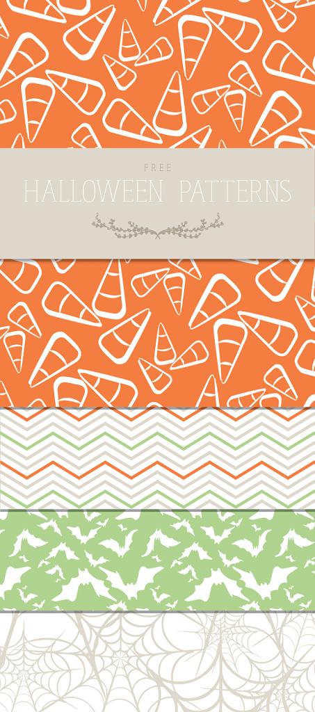 Free Halloween Patterns {Plus, PicMonkey Tutorial} | Designs
