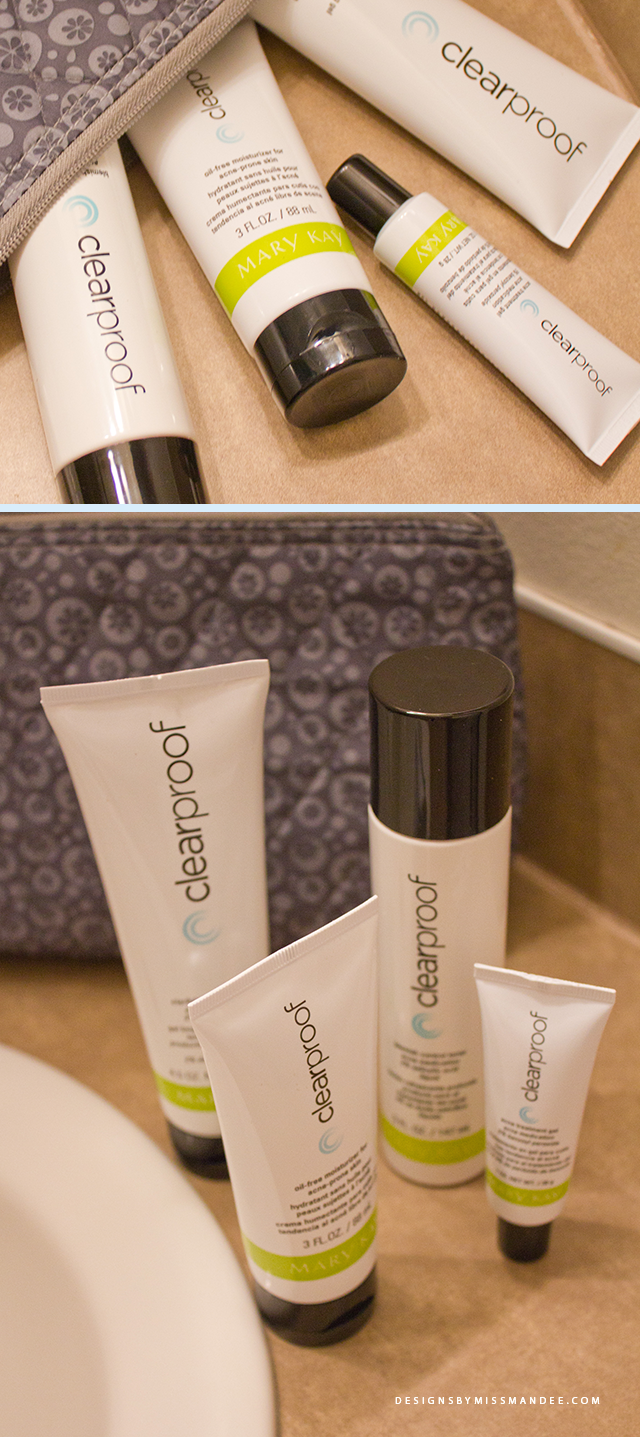 My Experience With The Mary Kay Clear Proof Acne System Designs