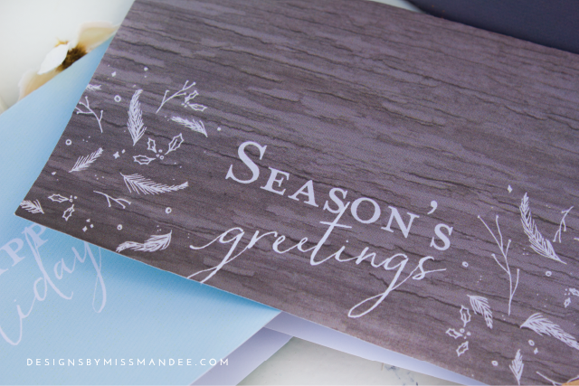 Festive Holiday Cards