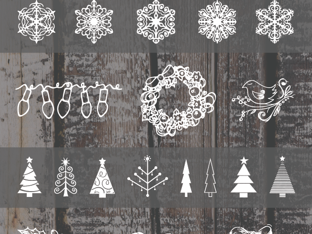 Christmas Dingbat Fonts