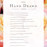 Hand Drawn Lines