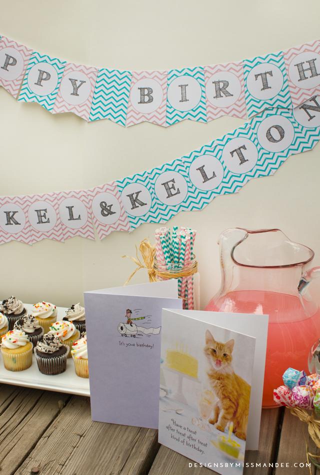 Printable Birthday Banners