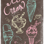Vintage Ice Cream Clip Art