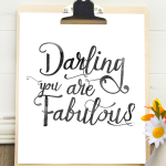 Darling, You Are Fabulous