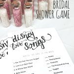Bridal Shower Game