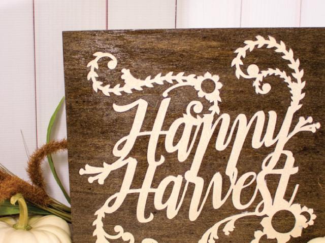 Happy Harvest DIY