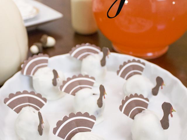 OREO Cookie Ball Turkeys